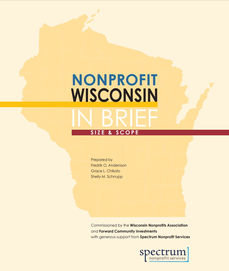 Wisconsin Nonprofits Association: Report now available